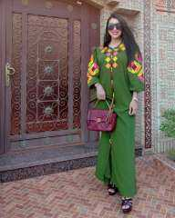 بعباءة مغربية.. دنيا بطمة تشارك صور أحدث إطلالتها